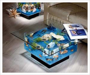 coffe table aquarium