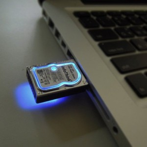 Mini Hard Disk 8GB USB2 flash drive