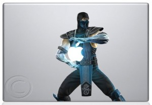 Sub Zero Macbook skin sticker