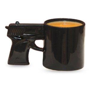 coffee cup gun