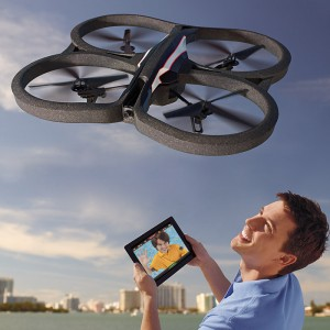 iPhone/Android Controlled Drone