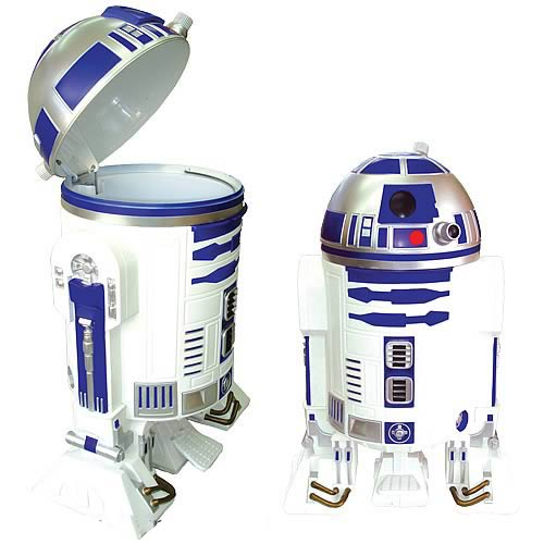 Star Wars R2 D2 Trash Can