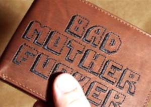 Pulp Fiction Leather Wallet