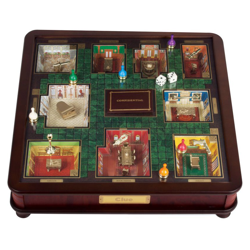 Clue Luxury Edition 3D Cluedo
