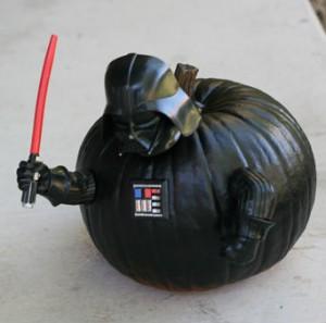 Darth Vader Pumpkin Push-ins