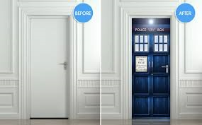 Doctor WHO Tardis Sticker