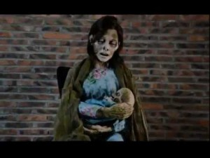 Life Size Animated Mommy Zombie
