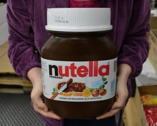 Ferrero Nutella Giant 11 Lbs Jar