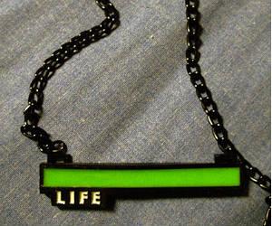 Life Bar Necklace
