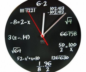 math problems clock