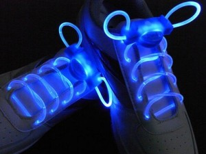 LED Flashing Shoe Laces