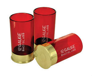 Shotgun 12 Gauge Shot Glass
