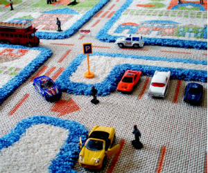 3d play carpet rug
