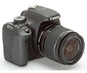 Canon EOS Rebel DSLR Camera