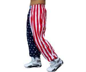American Flag Pants