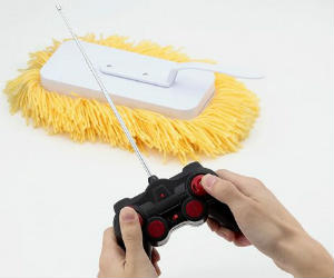 Remote radio controlled mop