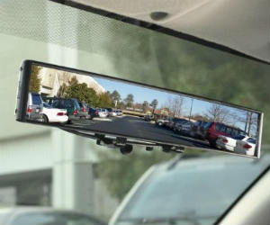 No Blind Spots Rearview Mirror
