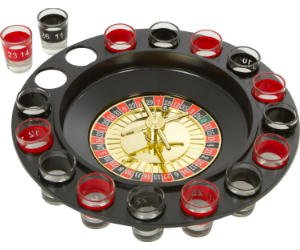 Drinker Shot Spinning Roulette