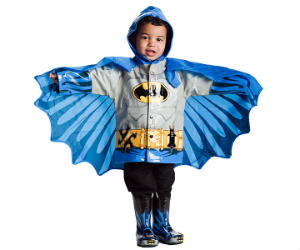 Batman Raincoat For Kids