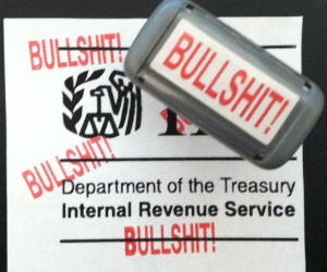 BULLSHIT! Office Stamp