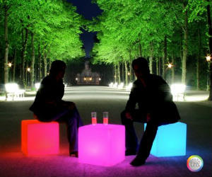 color led cube