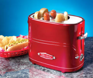 retro hot dog toaster maker