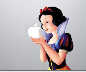 MacBook Snow White Decal Skin