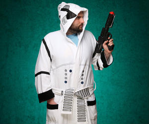 Star Wars Storm Trooper Bathrobe