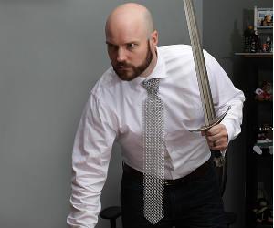 Chainmail Shirt Necktie