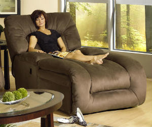 comfortable chaise lounger