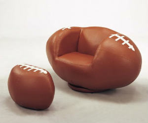 football chair ottoman