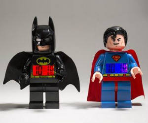 LEGO Superhero Alarm Clocks