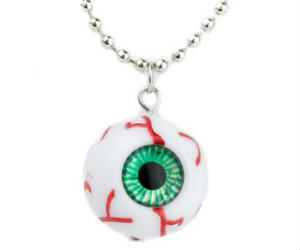 Creepy Evil Eye Necklace