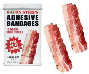 Bacon Shaped Bandages