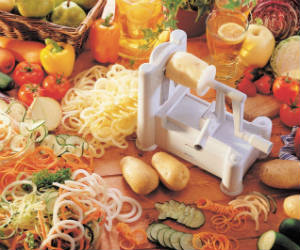 Ultimate Spiral Vegetable Slicer
