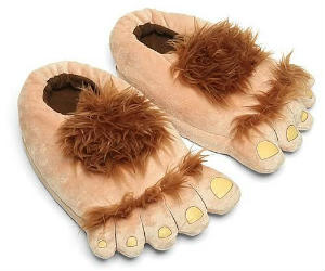 furry lotr hobbit slippers