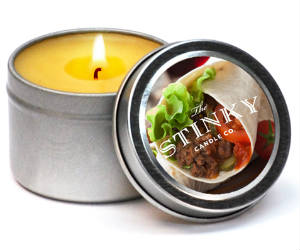 buritto scented candle
