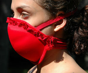 Emergency Bra Mask