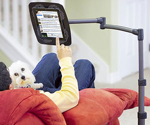 Deluxe Tablet Floor Stand