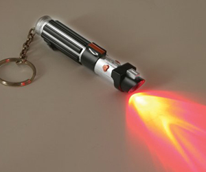 Star Wars Lightsaber Key Ring Torch