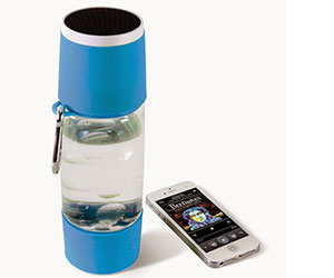 The Wireless Speaker Water Bottle