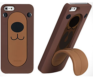 iPhone Bear Snap Stand Case