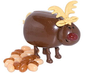 Pooping Reindeer Candy Dispenser