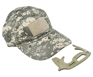 Hidden Defense Tool Baseball Cap