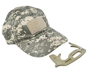 Hidden Defense Tool Baseball Cap