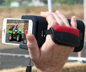 Camcorder Grip for iPhone