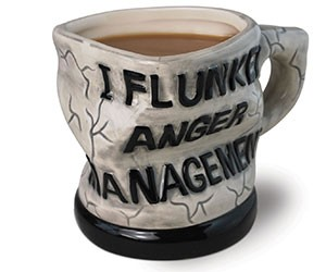 Anger Management Ceramic Mug