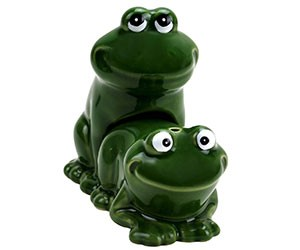 Froggy Style Salt and Pepper Shakers
