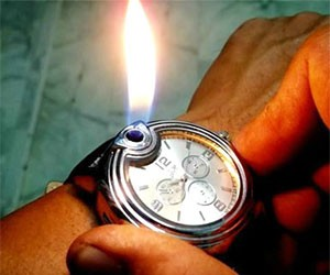 Wrist Watch Lighter