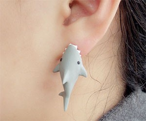Shark Bite Earrings